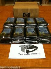 HP 300gb 10k 2.5in 6g SAS 9fk066-085 507119-004 507129-004 HDD (Lot of 10)
