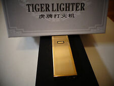 TIGER Windproof -Touch Sensor Sensitive High quality GOLD LIGHTER,NEW IN BOX