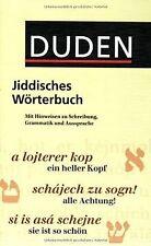 Duden Taschenbücher, Bd.24, Jiddisches Wörterbuch | Buch | Zustand gut