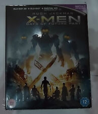 X-Men Days of Future Past  (with Slip Case)(VGC)(UK Blu Ray) Free Postage