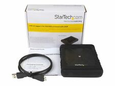 StarTech Rugged Hard Drive Enclosure - USB 3.0 to 2.5in SATA 6gbps
