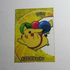 1999 TOPPS CARD #25 #PC1 FLYING PIKACHU