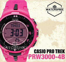 Casio Protrek Triple Sensor V3 Solar Atomic Series Watch PRW3000-4B