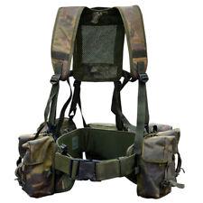 CHEST RIG DPM Tactical British Army Airborne Webbing Set Woodland Vest Modular