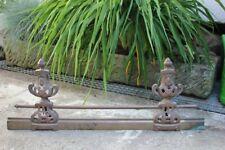 Antiker Bronze Kaminvorsetzer