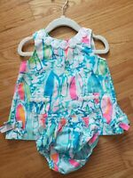Lilly pulitzer 6-12m Beach and Bae Infant Baby Sailboat Shift Dress