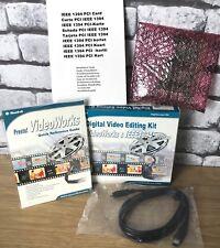 NUOVO kit di editing video digitale di opere Video & 1EEE1394 Interfaccia Solutions