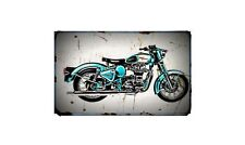 Royal Enfield Electra Bike Motorcycle A4 Photo Poster