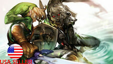 "The Legend of Zelda Link Ganon 36"" x 24"" Large Wall Poster Print Anime NEW #30"