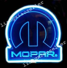 MOPAR Car Parts CHRYSLER 3d Acrylic Beer Bar Pub Neon Light Sign Fast Ship