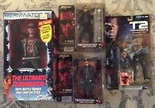 "TERMINATOR SUPER LOT (4) KENNER ULTIMATE TERMINATOR 12"", & McFARLANE (3) SHIPS"