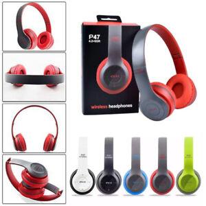 Cuffie Wireless Bluetooth senza fili con Microfono - TV, Musica, Gaming