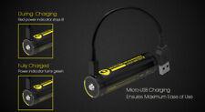 Nitecore NL1835R Batteria ricaricabile Litio 18650 Micro Usb 3.6 V 3500 mAh
