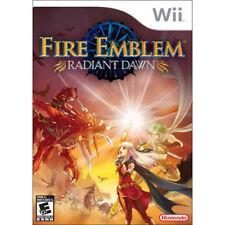 FIRE EMBLEM RADIANT DAWN [E10] wii game