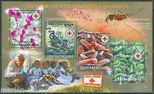 CENTRAL AFRICA  2014 THE MOST DANGEROIUS VIRUSES SYPHILIS TUBERCUOSIS MINT NH