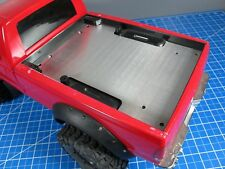Aluminum Trunk Bed Cargo Cover Plate Tamiya RC Toy 1/10 Ford F350 Juggernaut
