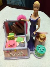 Barbie Coin Bank with Treasure Box
