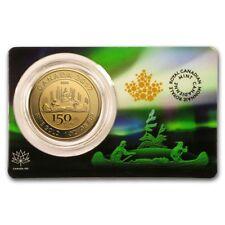 2017 RCM 1 oz Gold $150 Canada 150 Voyageur (Assay Card)