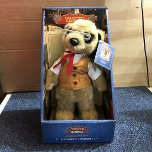 Yakov, Compare the Meerkat Toy, Boxed, Certificate (D5)