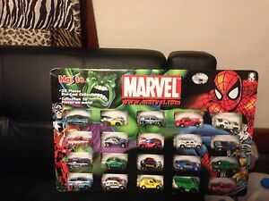 2003 Marvel 20 Piece Cars Product # 12284