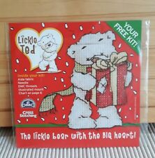Lickle ted -  Christmas cross stitch chart / kit