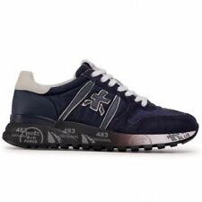 Premiata Scarpa UOMO - Lander 3247 - Blu/Blue - Bianco/White - Sneakers FW20-21