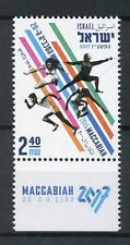 Israel 2017 MNH 20th Maccabiah 1v Set Athletics Fencing Sports Stamps