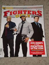 "JON JONES Autograph UFC FIGHT MAGAZINE ""BONES"" COA Chael Sonnen Anderson Silva"