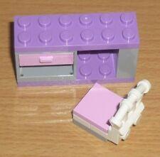 Lego Friends / City - Möbel - 1 Schreibtisch mit Stuhl