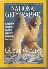 National Geographic February 2004 Great Whites of the North/Chinese Empire