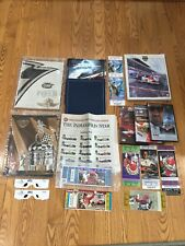 Indianapolis 500 memorabilia collection 2001-2012 official programs tickets cds