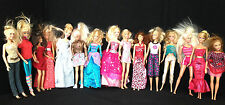 Lot of 15 Barbie & Other Dolls With Clothing & Accessories Some Vintage Lot #02