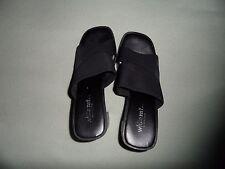 Women's Black Mt. Slip On Shoes. Size 8