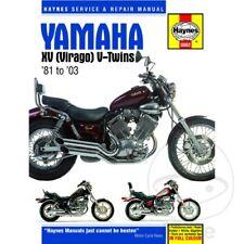 Yamaha XV 535 H Virago 1989 Haynes Service Repair Manual 0802