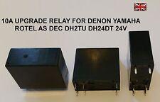 Upgrade Relay for DEC 24v DH2TU DH24D2 Denon Rotel Yamaha Audio Stereo HiFi NEW