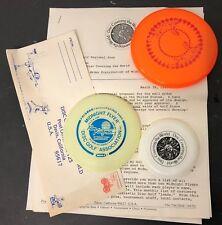 Wham-O Frisbee Mini Midnight flyer DGA Ron Kaufman Disc Covering America