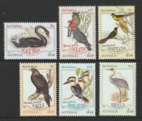 Australia 2020 : Bird Emblems, Design Set. 6 x $1.10 Decimal Stamps, MNH