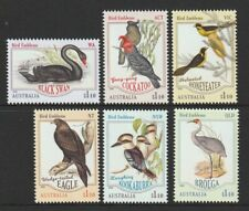 Australia 2020 : Bird Emblems, Design Set. 6 x $1.10 Decimal Stamps, MNH