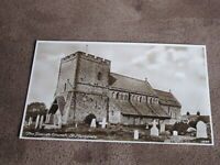 Early Kent postcard - The parish church - St Margarets at Cliffe Nr Dover / Deal