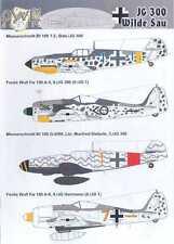 "Owl Decals 1/48 German JG-300 WILDE SAU ""Wild Boar Squadron"""