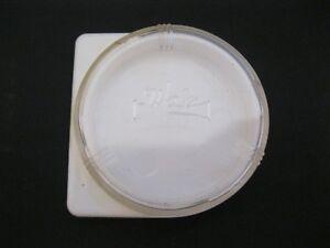"""VINTAGE WALZ PLASTIC LENS/FILTER  CASE~FOR ONE LENS~1 7/16"""""""