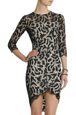 Lover. Jungle fitted lace dress. Size 8. Black/nude. RRP$900 BNWT. #191