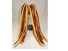 Brown hues Dreadlocks - 20 Handmade felted merino wool dreads