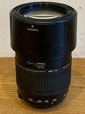 TAMRON AF 70-300mm 1:4-5.6 Tele Macro AF Camera Lens UNTESTED
