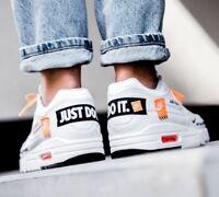 New 2018 Nike Air Max 1 SE Just Do It White Black Orange UK 7-11 EUR 41-46