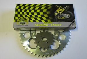 Suzuki GSX1100 EFE 530 Regina X ring chain & sprocket kit.