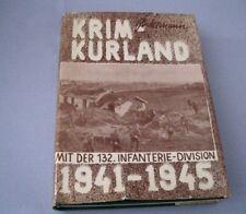 Rares Buch G.H.Bidermann: KRIM-KURLAND mit der 132.Infanterie-Division 1941-1945