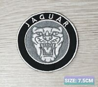 Jaguar Car Motor logo Badge Embroidered Iron On/Sew On Patch