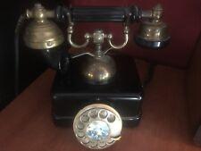 TELEFONO ANTIGUO ESPAÑOL DE BAQUELITA MARCA CITESA ELASA MODELO ESTILO AÑOS 60