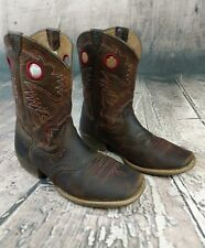 Ariat Boys' Rough Stock Cowboy Boot - Square Toe - 10014101C SZ 6
